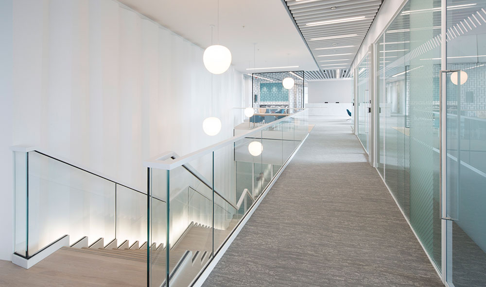 modern-light-interior-office-and-staircase-Glasgow-wall-panel