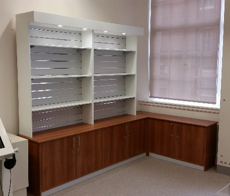 Burnley Council – Archives Department Bespoke Storage and Display Units
