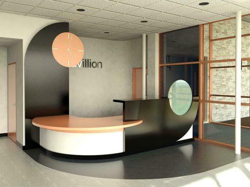 leisure centre reception desk